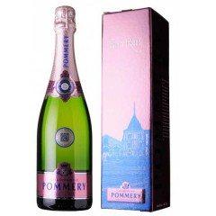 CHAMPAGNE POMMERY - BRUT ROSE - AVEC ETUI (France - Champagne - Champagne AOC - Champagne Rosé - 0,75 L)