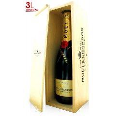 CHAMPAGNE MOET ET CHANDON - Brut Impérial - Jéroboam 3L (France - Champagne - Champagne AOC - Champagne Blanc - 3 L)