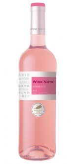 WINE NOTE ROSE 2015