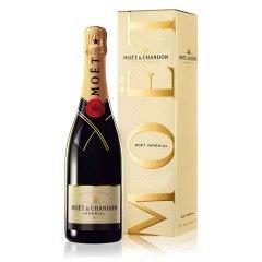CHAMPAGNE MOET ET CHANDON - BRUT IMPERIAL - AVEC ETUI (France - Champagne - Champagne AOC - Champagne Blanc - 0,75 L)